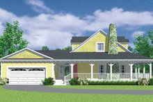 Home Plan - Victorian Exterior - Other Elevation Plan #72-1130