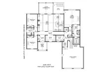 Craftsman Floor Plan - Main Floor Plan Plan #932-10