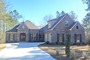 European Style House Plan - 3 Beds 2.5 Baths 2405 Sq/Ft Plan #430-133 Exterior - Front Elevation
