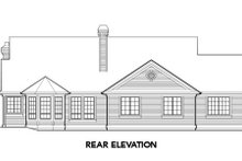 Dream House Plan - Craftsman Exterior - Rear Elevation Plan #48-287