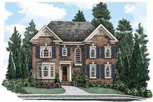 House Plan Design - Traditional Exterior - Front Elevation Plan #927-500