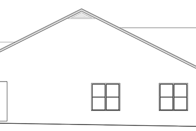 Country Exterior - Other Elevation Plan #1058-135 - Houseplans.com