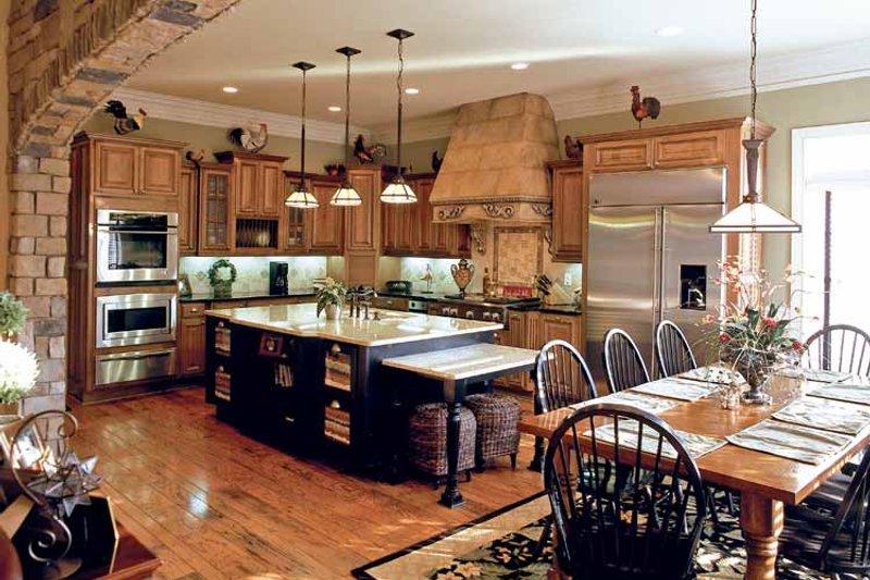 Colonial Interior - Kitchen Plan #927-923 - Houseplans.com