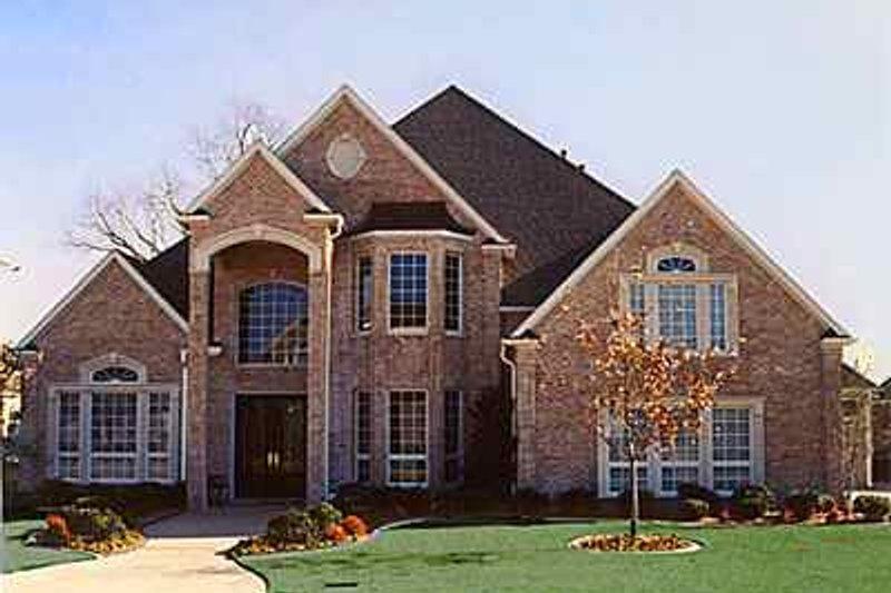 Dream House Plan - European Exterior - Front Elevation Plan #84-155
