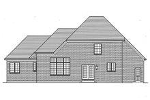 House Plan Design - Traditional Exterior - Rear Elevation Plan #46-869