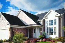 Home Plan - European Exterior - Front Elevation Plan #320-383