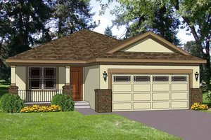 Traditional Exterior - Front Elevation Plan #116-261
