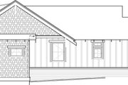 Craftsman Style House Plan - 2 Beds 2 Baths 999 Sq/Ft Plan #895-47 Exterior - Other Elevation