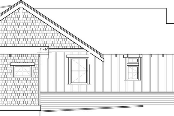 Craftsman Exterior - Other Elevation Plan #895-47