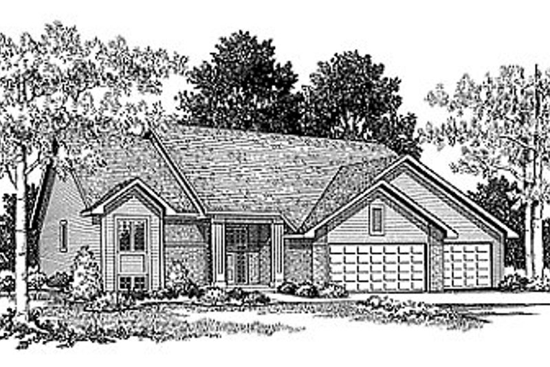 Dream House Plan - Traditional Exterior - Front Elevation Plan #70-211