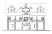 Craftsman Style House Plan - 4 Beds 3 Baths 2427 Sq/Ft Plan #117-702 Exterior - Front Elevation