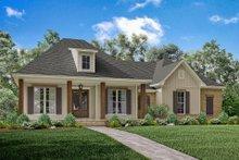 Dream House Plan - European Exterior - Front Elevation Plan #430-144