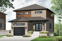 Dream House Plan - Contemporary Exterior - Front Elevation Plan #23-2481