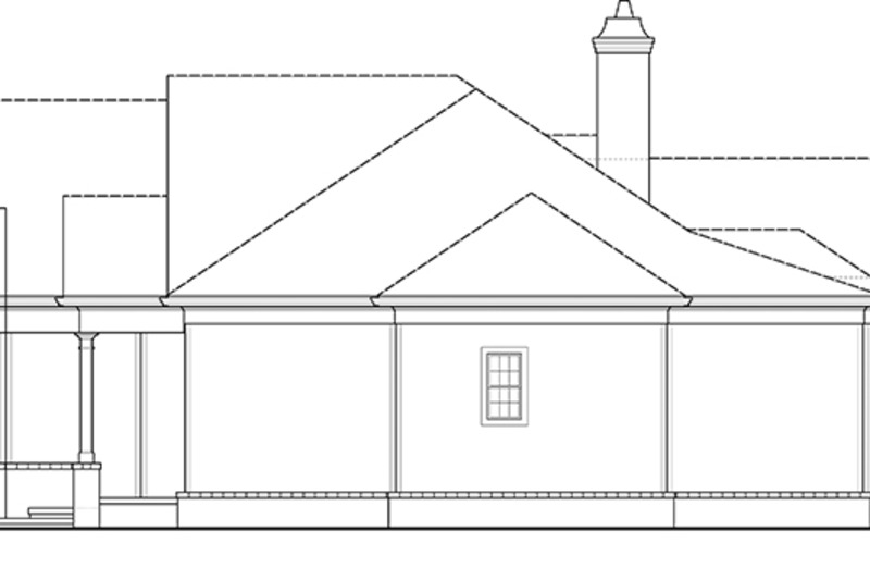 Craftsman Exterior - Other Elevation Plan #119-416 - Houseplans.com