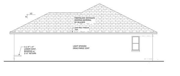 Mediterranean Floor Plan - Other Floor Plan Plan #1058-33