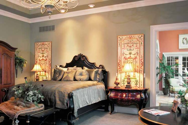 European Interior - Master Bedroom Plan #46-774 - Houseplans.com
