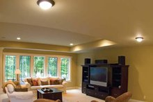Architectural House Design - Prairie Interior - Family Room Plan #928-50