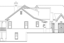 Dream House Plan - Craftsman Exterior - Other Elevation Plan #119-426