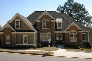Dream House Plan - Traditional Exterior - Front Elevation Plan #437-38