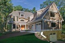 Architectural House Design - Craftsman Exterior - Front Elevation Plan #928-71