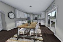 Traditional Interior - Kitchen Plan #1060-37