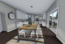 Traditional Interior - Kitchen Plan #1060-37