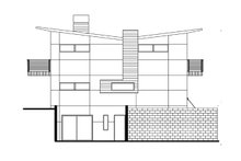 Dream House Plan - Traditional Exterior - Other Elevation Plan #484-13
