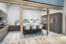 Farmhouse Interior - Kitchen Plan #924-5
