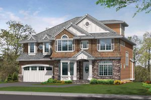 House Plan Design - Craftsman Exterior - Front Elevation Plan #132-433