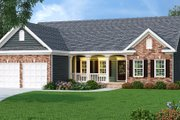 Traditional Style House Plan - 3 Beds 2 Baths 1566 Sq/Ft Plan #419-173