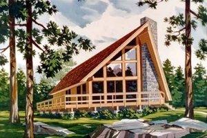 Architectural House Design - Exterior - Front Elevation Plan #314-237