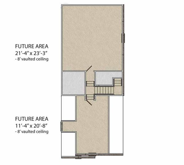 Traditional Floor Plan - Upper Floor Plan Plan #56-691