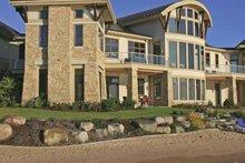 Architectural House Design - Contemporary Exterior - Rear Elevation Plan #928-67