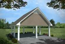Dream House Plan - Carport?