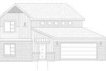 Dream House Plan - Contemporary Exterior - Front Elevation Plan #932-172