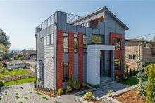 House Plan Design - Modern Exterior - Front Elevation Plan #1066-67