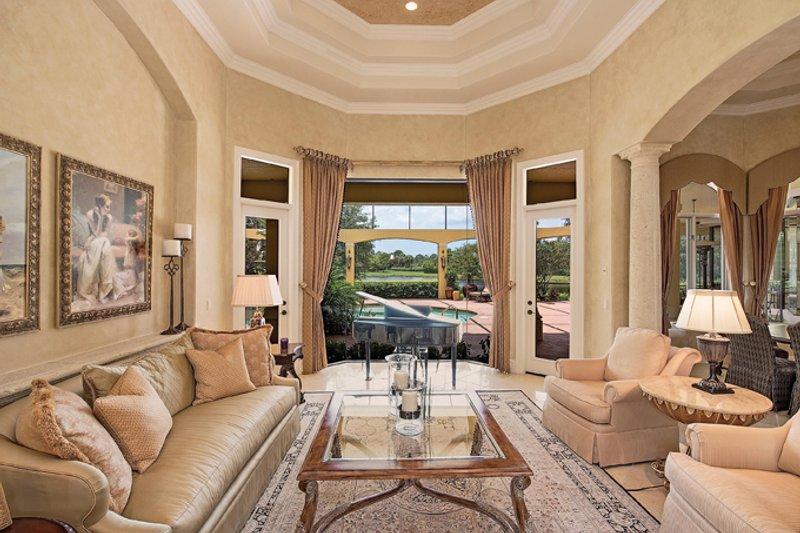 Mediterranean Interior - Family Room Plan #930-413 - Houseplans.com