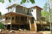 Architectural House Design - Craftsman Exterior - Rear Elevation Plan #939-9