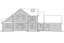 Architectural House Design - Traditional Exterior - Rear Elevation Plan #48-158