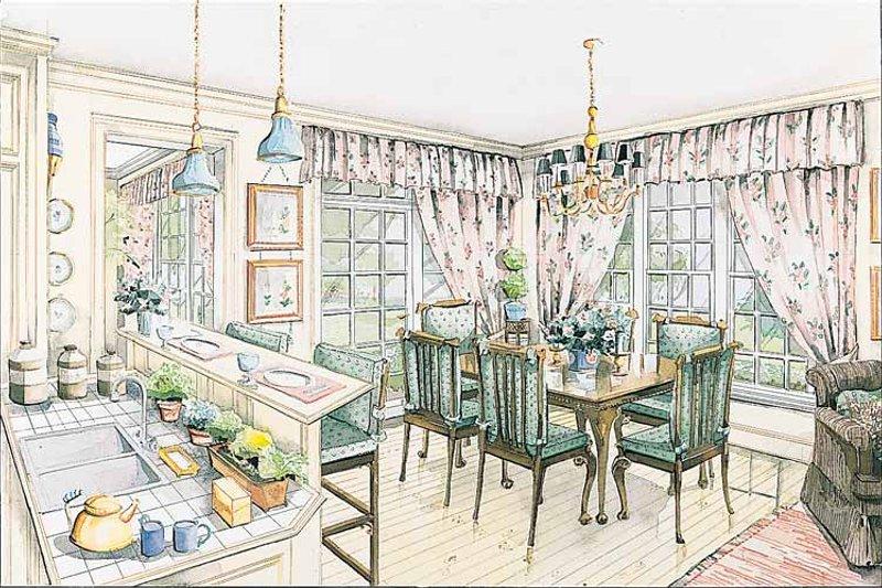 Colonial Interior - Dining Room Plan #429-178 - Houseplans.com