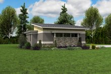 Contemporary Exterior - Other Elevation Plan #48-1006