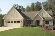 Craftsman Style House Plan - 4 Beds 2.5 Baths 2381 Sq/Ft Plan #928-124 Exterior - Front Elevation