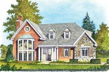 Contemporary Exterior - Front Elevation Plan #1016-99