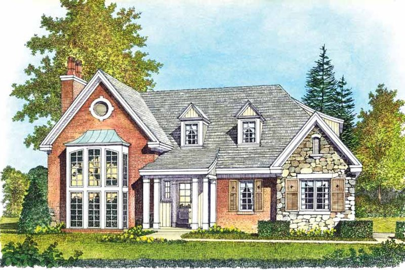 Home Plan - Contemporary Exterior - Front Elevation Plan #1016-99