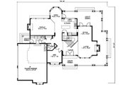 Craftsman Style House Plan - 4 Beds 2.5 Baths 2770 Sq/Ft Plan #132-121 Floor Plan - Main Floor Plan