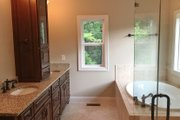 Farmhouse Style House Plan - 4 Beds 3.5 Baths 2529 Sq/Ft Plan #437-78 Interior - Master Bathroom