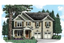 Home Plan - Country Exterior - Front Elevation Plan #927-950