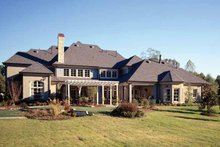 House Plan Design - Country Exterior - Rear Elevation Plan #952-182