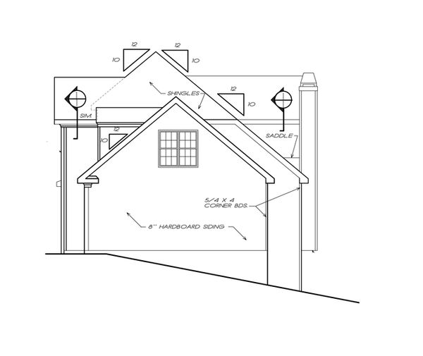 Colonial Floor Plan - Other Floor Plan Plan #927-753