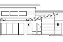 House Plan Design - Modern Exterior - Other Elevation Plan #895-101
